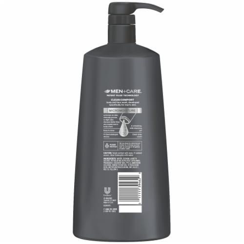 Dove Men+Care Clean Comfort Micro Moisture Body + Face Wash Perspective: left