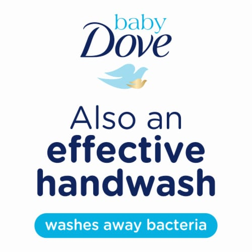 Dove Baby Rich Moisture Baby Bar Soap Perspective: left