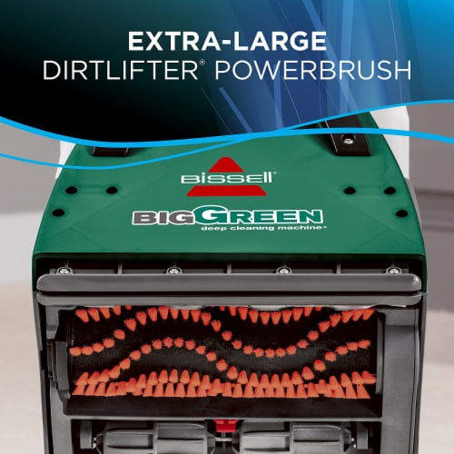 BISSELL 86T3 Big Green Fast Drying Professional Carpet Cleaner Machine, Black Perspective: left