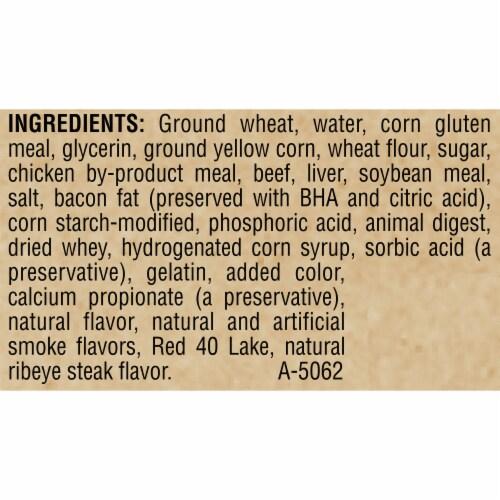 ALPO T-Bonz Ribeye Flavor Dog Treats Perspective: left