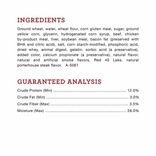ALPO® T-Bonz® Porterhouse Flavor Dog Treats Perspective: left