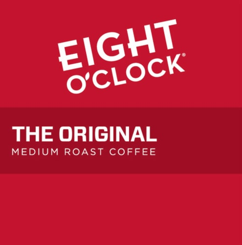 Eight O'Clock The Original Medium Roast Coffee K-Cup Pods Perspective: left