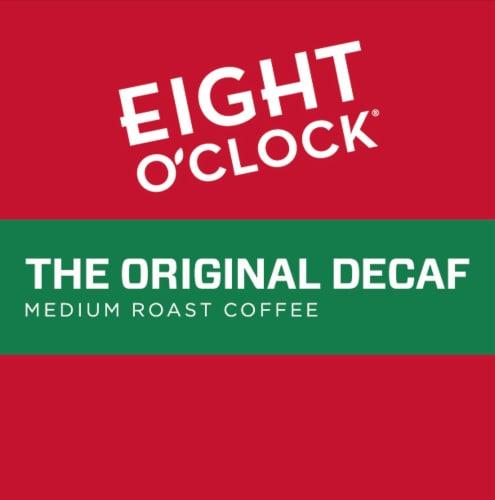 Eight O'Clock® The Original Decaf Medium Roast Coffee K-Cup Pods Perspective: left