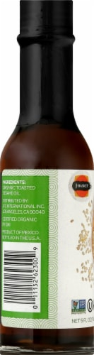J-Basket Organic Sesame Oil Perspective: left