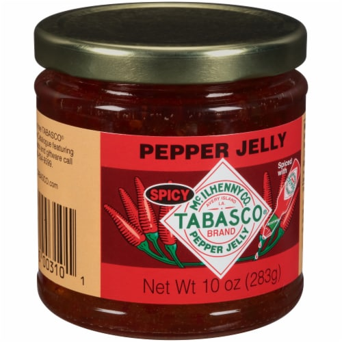 Tabasco Spicy Pepper Jelly Perspective: left