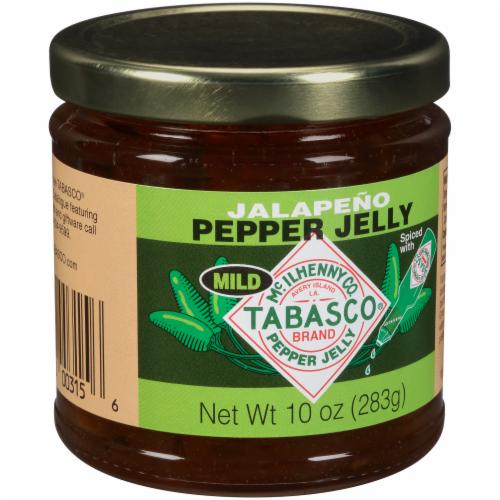 Tabasco Mild Jalapeno Pepper Jelly Perspective: left