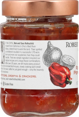 Robert Rothschild Farm Roasted Red Pepper & Onion Dip & Spread Perspective: left