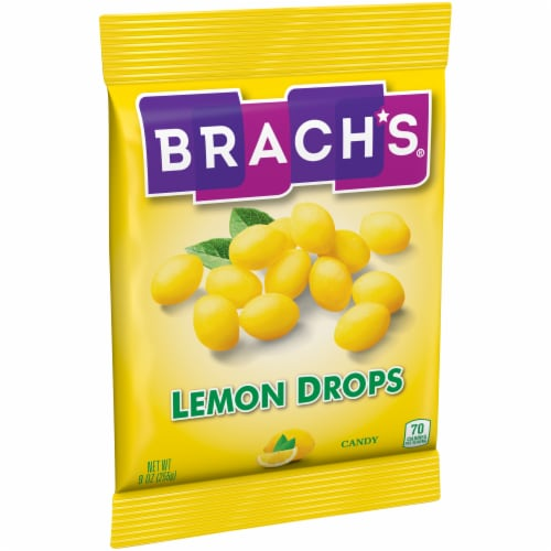Brach's Lemon Drops Candy Perspective: left