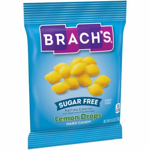 Brach's® Sugar Free Lemon Drops Hard Candy Perspective: left