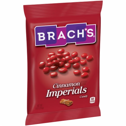 Brach's Cinnamon Imperials Candy Perspective: left