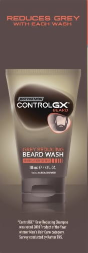 Just For Men Control GX Grey Reducing Beard Wash Perspective: left
