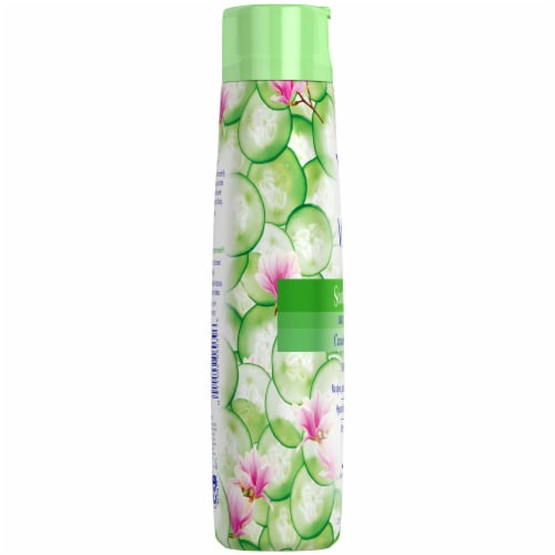 Vagisil Scentsitive Scents Cucumber Magnolia Daily Intimate Wash Perspective: left