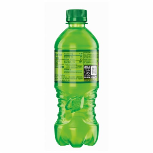 Mountain Dew Citrus Soda Perspective: left