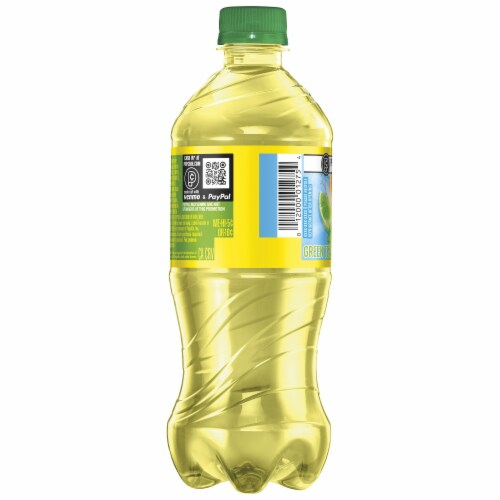 Lipton Iced Green Tea with Citrus Drink Perspective: left