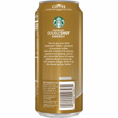 Starbucks DoubleShot Energy Coffee Beverage Perspective: left