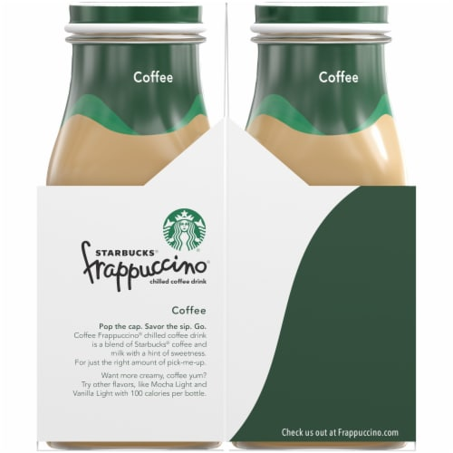 Starbucks Frappuccino Iced Coffee Drink Perspective: left