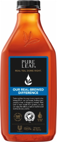 Pure Leaf Sweet Tea Brewed Iced Tea Perspective: left