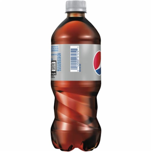 Diet Pepsi Cola Soda Perspective: left