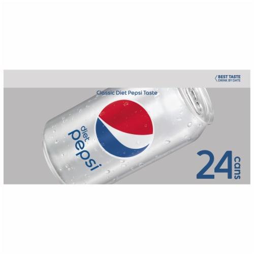 Diet Pepsi Cola (24 Pack) Perspective: left