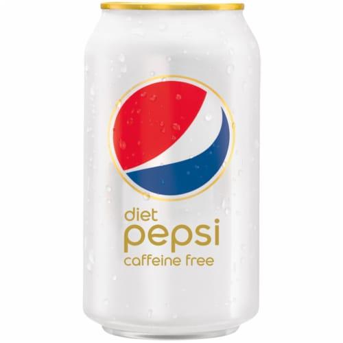 Diet Pepsi Cola Caffeine Free Soda Perspective: left