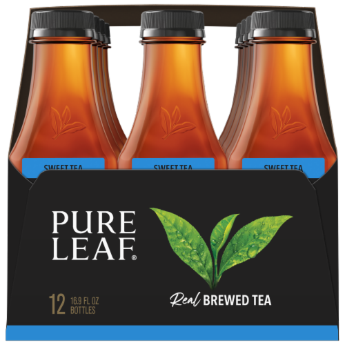 Pure Leaf Real Brewed Sweet Tea Perspective: left