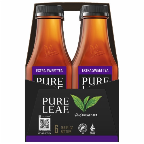 Pure Leaf Extra Sweet Brewed Iced Tea Perspective: left