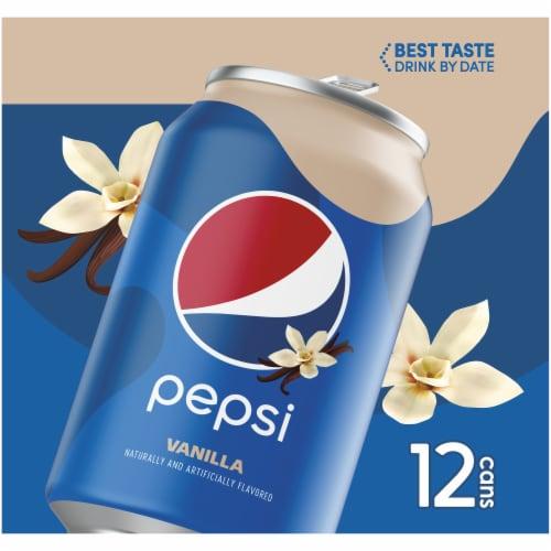 Pepsi Cola Vanilla Soda Perspective: left