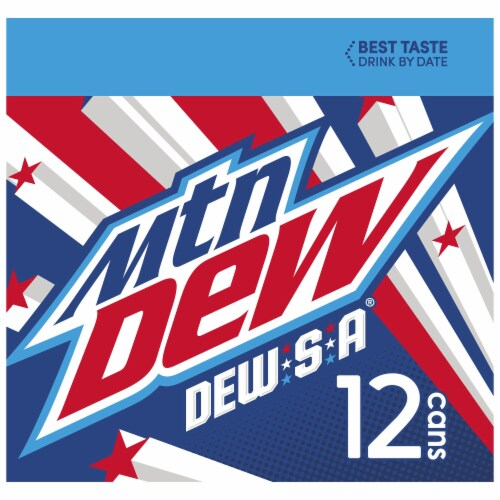 Mountain Dew Dew-S-A Soda Perspective: left