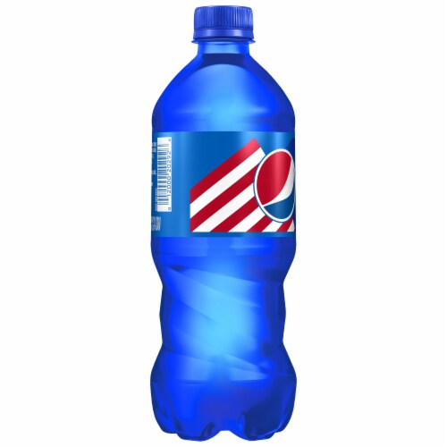 Pepsi Blue Berry Flavored Cola Perspective: left