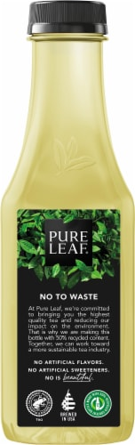 Pure Leaf Real Brewed Passionfruit Green Tea Perspective: left