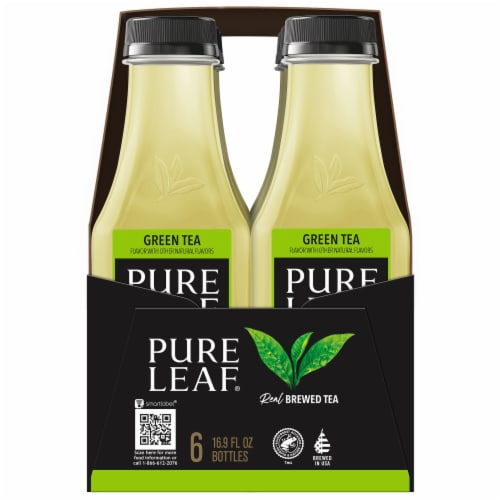 Pure Leaf® Real Brewed Green Tea Perspective: left