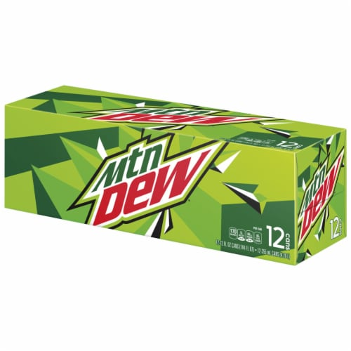 Mountain Dew Soda Perspective: left