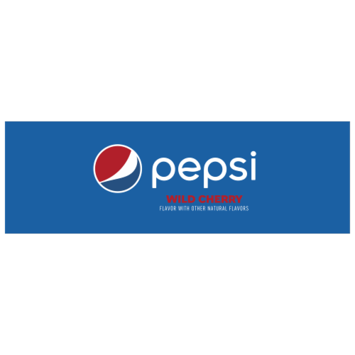 Pepsi Cola Wild Cherry Soda 12 Pack Perspective: left