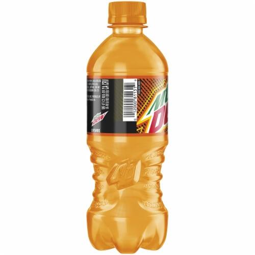 Mountain Dew Live Wire Orange Flavored Soda Perspective: left