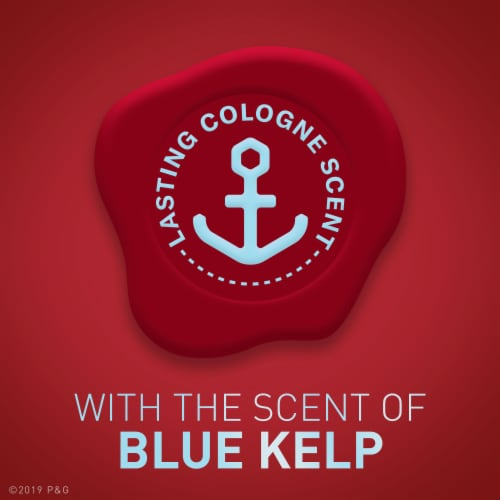 Old Spice Men Red Reserve Deodorant Aluminum Free Sea Spray with Blue Kelp Perspective: left