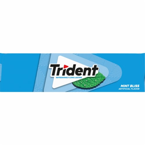 Trident Sugar Free Mint Bliss Gum Perspective: left