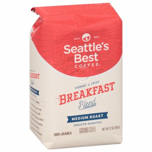 Seattle's Best Medium Roast Breakfast Blend Ground Coffee Perspective: left