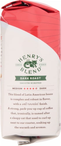 Seattle's Best Henry's Blend Dark Roast Ground Coffee Perspective: left