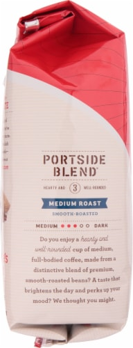 Seattle's Best Portside Blend Medium Roast Whole Bean Coffee Perspective: left