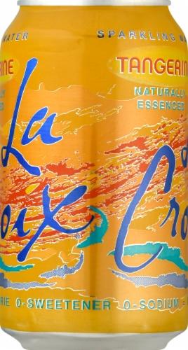 LaCroix Tangerine Sparkling Water Perspective: left
