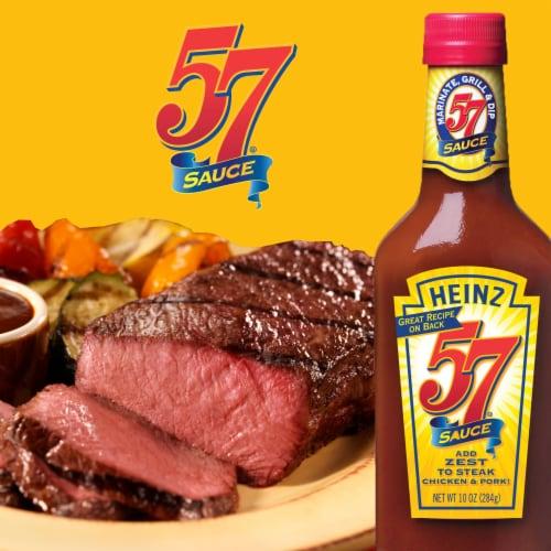 Heinz 57 Sauce Perspective: left