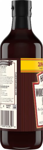 Heinz Worcestershire Sauce Perspective: left