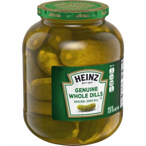 Heinz Premium Genuine Dill Pickles Perspective: left