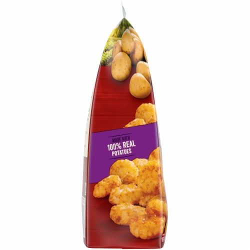 Ore-Ida Golden Crispy Crowns Seasoned Shredded Potatoes Perspective: left