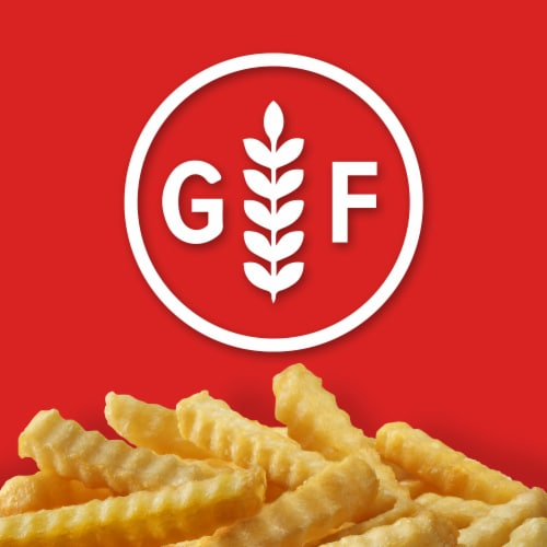 Ore-Ida Golden Crinkles French Fried Potatoes Perspective: left