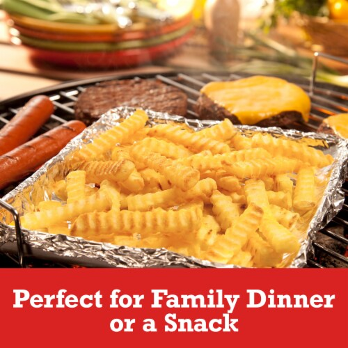 Ore-Ida Extra Crispy Crinkles French Fried Potatoes Perspective: left