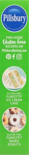 Pillsbury Gluten Free Funfetti Premium Cake & Cupcake Mix Perspective: left