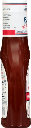 Sweet Baby Ray's No Sugar Added Sweet & Spicy BBQ Sauce Perspective: left