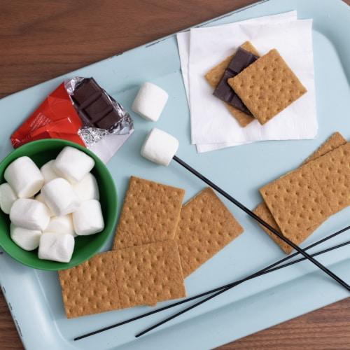 Annie's Organic Honey Graham Crackers Perspective: left