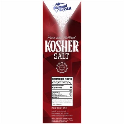 Diamond Crystal Kosher Salt Perspective: left